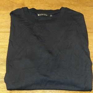 NWOT Athleta - Drishti Ruched Sweatshirt Black